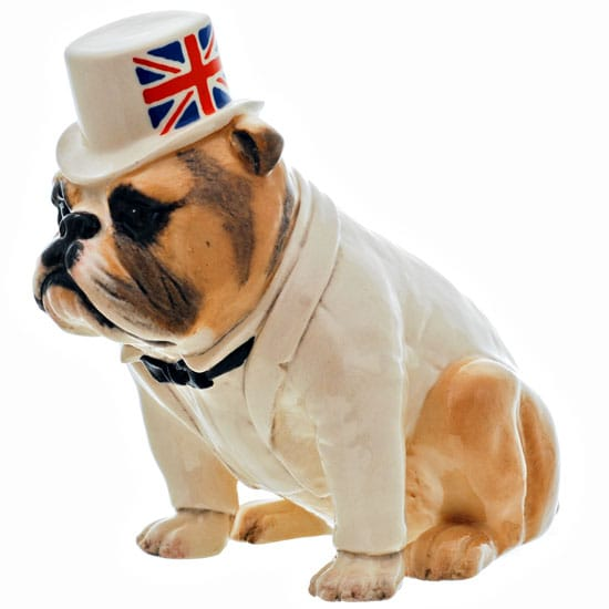 Bulldog-Briti-2: British Bull Dog<br>Height:5""