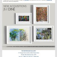The White House Gallery – New Acquisitions (Jim Dine)