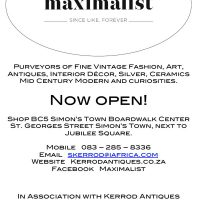 New Shop 'Maximalist' opening!
