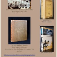 Quagga Rare Books & Art – Latest Auction ends 2 December 2014