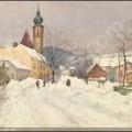 "Luigi Kasimir ""Grinzing in Winter"""