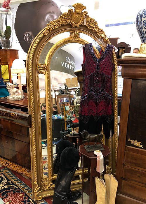 Fabulous collection of ornate gilded <br>mirrors will be on display…
